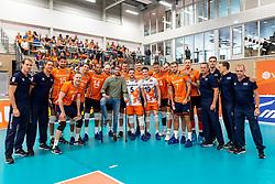 08-09-2018 NED: Netherlands - Argentina, Ede<br /> Second match of Gelderland Cup / Team NL and Robbert Andringa #18 of Netherlands