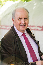 Pictured: Alexander McCall Smith<br /> Book fanatics headed to Charlotte Square in Edinburgh which is the hub of the international Book Festival to meet the authors and also to meet up with fellow fans of the printed word.<br /> <br /> <br /> Ger Harley | EEm 15 August 2017