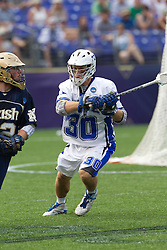 31 May 2010: Duke Blue Devils midfielder Terrence Molinari (30) in a 5-6 win over the Notre Dame Fighting Irish for the NCAA Lacrosse Championship at M&T Bank Stadium in Baltimore, MD.