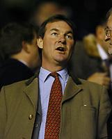 Fotball<br /> Arsenal v Southampton<br /> 10. februar 2004<br /> Highbury<br /> Foto: Digitalsport<br /> Norway Only<br /> Southampton-formann Rupert Lowe