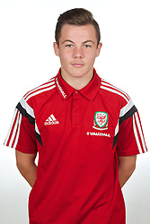 CARDIFF, WALES - Wednesday, September 24, 2014: Wales' Mitchell Clark. (Pic by David Rawcliffe/Propaganda)