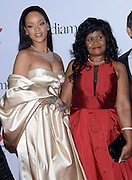 RIHANNA and mother at  the 2nd annual Diamond Ball held @ the Barker Hangar. December 10, 2015<br /> ©Exclusivepix Media