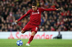 Liverpool's Roberto Firmino