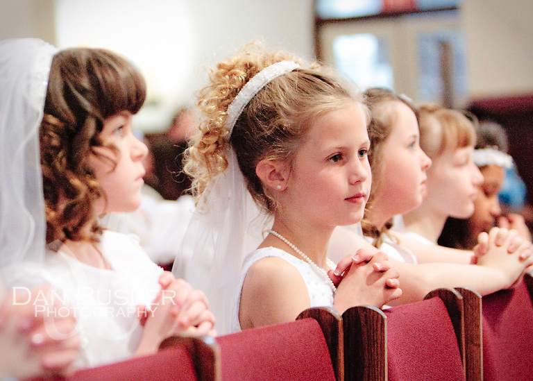 From the First Communion at St Ann Parish - Dorchester MA - 2010