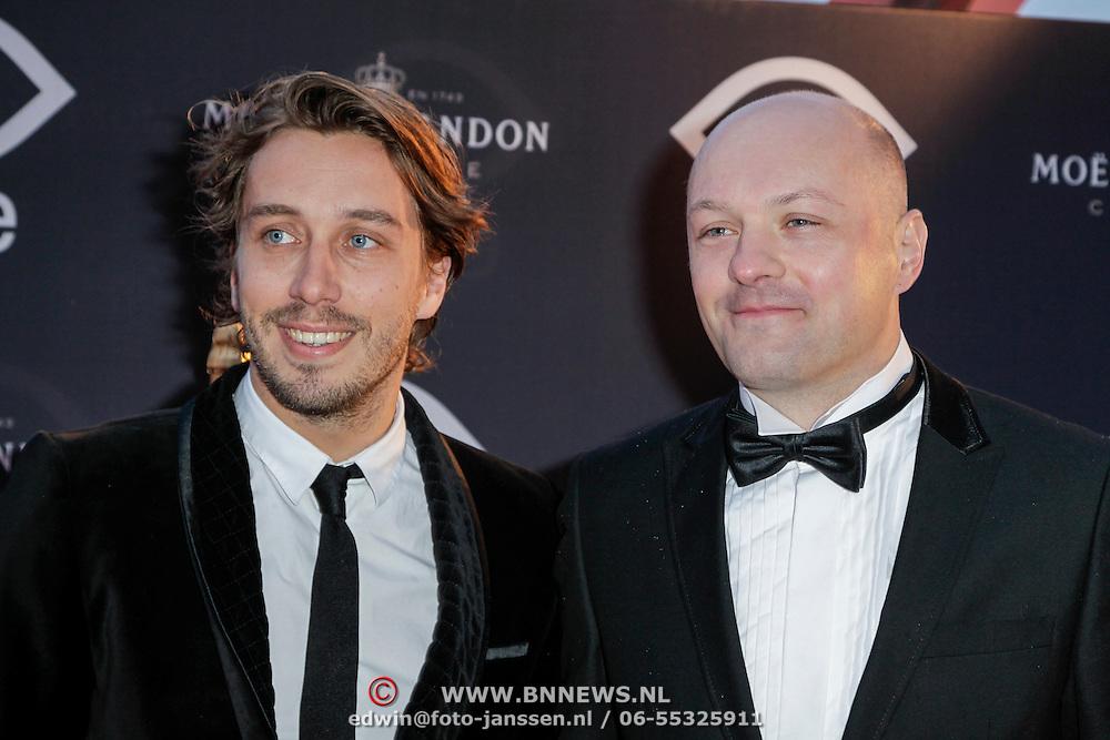 NLD/Amsterdam/20120404 - Opening filmmuseum Eye, Boris van der Ham en ………