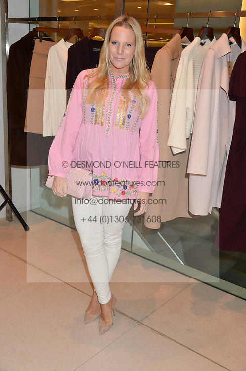 ALICE NAYLOR-LEYLAND at the launch of the 'Jasmine for Jaeger' fashion collection by Jasmine Guinness for fashion label Jaeger held at Fenwick's, Bond Street, London on 9th September 2015.