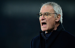 Leicester City manager Claudio Ranieri give his players directions. - Mandatory by-line: Alex James/JMP - 12/02/2017 - FOOTBALL - Liberty Stadium - Swansea, England - Swansea City v Leicester City - Premier League