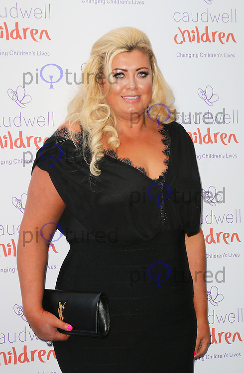 Gemma Collins, The Caudwell Children Butterfly Ball, Grosvenor House Hotel, London UK, 15 May 2014, Photo by Richard Goldschmidt