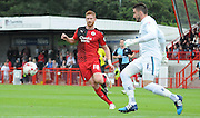 Matt Harrold chases down the loose ball during the Sky Bet League 2 match between Crawley Town and Wycombe Wanderers at the Checkatrade.com Stadium, Crawley, England on 29 August 2015. Photo by Michael Hulf.