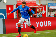 James Tavernier during the Ladbrokes Scottish Premiership match between Hamilton Academical FC and Rangers at The Hope CBD Stadium, Hamilton, Scotland on 24 February 2019.