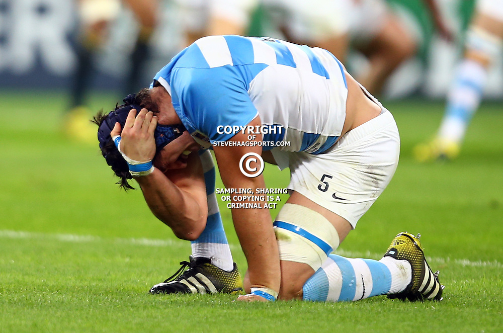 LONDON, ENGLAND - OCTOBER 30: Tomas Lavanini of Argentina during the Rugby World Cup 3rd Place Playoff match between South Africa and Argentina at Olympic Stadium on October 30, 2015 in London, England. (Photo by Steve Haag/Gallo Images)
