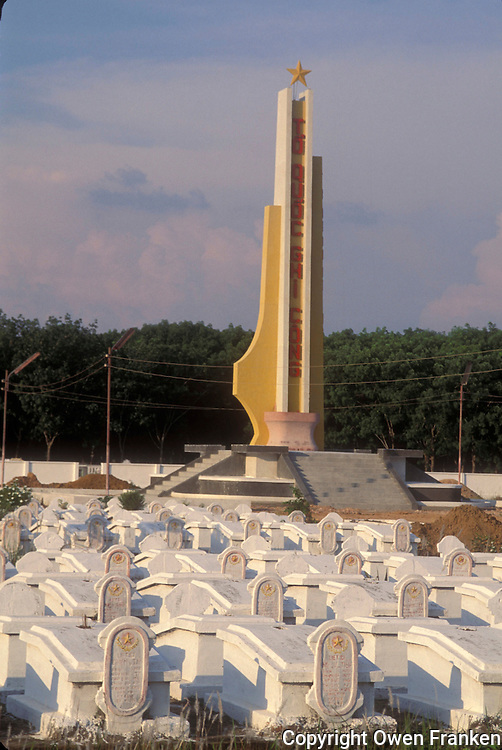 Military cemetery in Vietnam