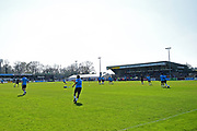 Hayes Lane stadium before the Vanarama National League match between Bromley FC and Wrexham FC at Hayes Lane, Bromley, United Kingdom on 8 April 2017. Photo by Jon Bromley.