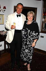 Left to right, MRS SAADI AL RAIS and GORDANA STEVOVIC at a charity dinner hosted by Jennie Hallam-Peel to promote the London Debutante Season held at her home Somerhill, Rowdean Crescent, Brighton on 12th September 2004.