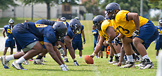 2015 A&T Football Fall Camp (3rd Practice)