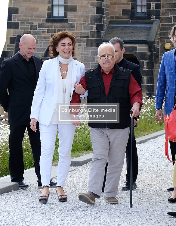 Edinburgh International Film Festival 2019<br /> <br /> Astronaut (World Premiere)<br /> <br /> Pictured: Mimi Kuzyk and Richard Dreyfuss<br /> <br /> Aimee Todd   Edinburgh Elite media