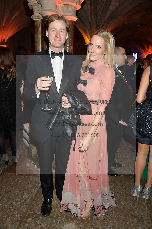 ALICE NAYLOR-LEYLAND and her husband TOM NAYLOR-LEYLAND at Save the Children's spectacular, black tie Winter Gala, a festive fundraising event held at London's Guildhall. Guests were transported into the magical world of the much-celebrated British novelist, Roald Dahl, in celebration of his centenary, for a marvellous evening of fine dining and gloriumtious entertainment to raise money to help transform children's lives across the world and here in the UK.