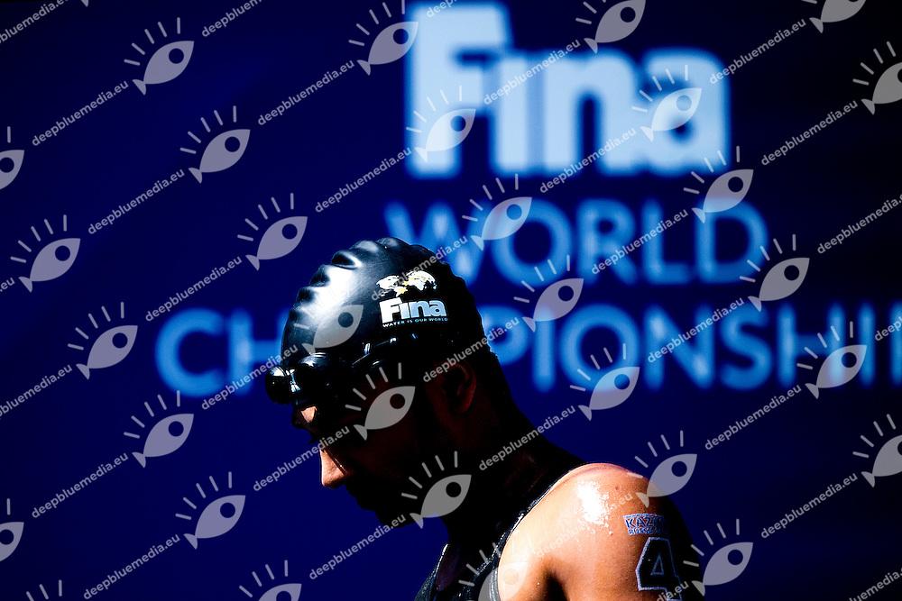 Fina Cap<br /> Gold Medal<br /> Open Water 10km Men - Kazanka River<br /> Day04 27/07/2015<br /> XVI FINA World Championships Aquatics Swimming<br /> Kazan Tatarstan RUS July 24 - Aug. 9 2015 <br /> Photo A.Masini/Deepbluemedia/Insidefoto