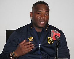 Cape Town City coach Benni McCharthy in a match between Orlando Pirates  and Cape Town City at  Fnb Stadium on Tuesday September 19, 2017.