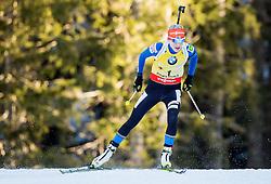 MAKARAINEN Kaisa (FIN) competes during Women 12,5 km Mass Start at day 4 of IBU Biathlon World Cup 2014/2015 Pokljuka, on December 21, 2014 in Rudno polje, Pokljuka, Slovenia. Photo by Vid Ponikvar / Sportida