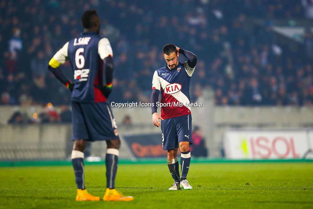 Diego Contento  - 21.12.2014 - Bordeaux / Lyon - 19eme journee de Ligue 1 -<br /> Photo : Manuel Blondeau / Icon Sport