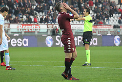 November 19, 2017 - Turin, Piedmont, Italy - Andrea Belotti (Torino FC)  regretted after a missed opportunity during the Serie A football match between Torino FC and AC Chievo Verona at Olympic Grande Torino Stadium on 19 November, 2017 in Turin, Italy. (Credit Image: © Massimiliano Ferraro/NurPhoto via ZUMA Press)