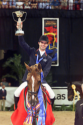 Pessoa Rodrigo-Baloubet du Rouet<br /> Worldcup Final Jumping Las Vegas 2000<br /> Photo © Dirk Caremans