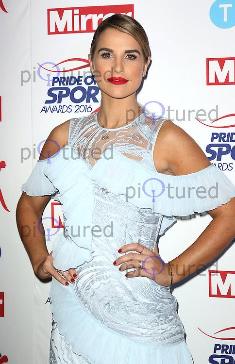 Vogue Williams, Pride of Sport Awards, Grosvenor House Hotel, London UK, 07 December 2016, Photo by Richard Goldschmidt