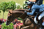 Pedro VENISS (BRA) riding Quabri de l'Isle during the World Equestrian Festival, CHIO of Aachen 2018, on July 13th to 22th, 2018 at Aachen - Aix la Chapelle, Germany - Photo Christophe Bricot / ProSportsImages / DPPI