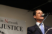 17 January 2011- Harlem, NY-  Congressman Anthony Weiner at The National Action Network Martin Luther King Day Celebration held at The House of Justice on January 17, 2011 in Harlem, New York City. Photo Credit: Terrence Jennings