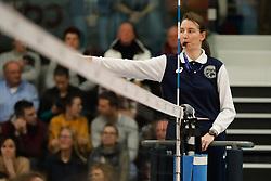 20180110 NED: CEV CUP Sliedrecht Sport - Beziers Angels VB: Sliedrecht<br />Eva Tomec of Slovenia<br />&copy;2018-FotoHoogendoorn.nl / Pim Waslander