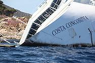 The Costa Concordia wreck