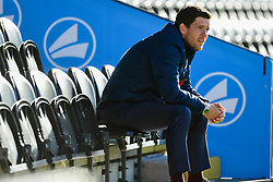 Bristol Rovers manager Darrell Clarke prior to kick off - Mandatory by-line: Ryan Hiscott/JMP - 11/11/2018 - FOOTBALL - The Hive - Barnet, England - Barnet v Bristol Rovers - Emirates FA Cup first round proper