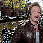 """NLD/Amsterdam/20100421 -  Presentatie Bastiaan van Schaik boek """"Koken met Modellen"""", kok Matthijs Vrieze"""