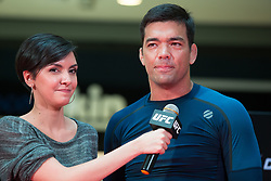October 25, 2017 - Sao Paulo, Sao Paulo, Brazil - LYOTO MACHIDA, during an open practice session to the UFC Fight Night in Sao Paulo, Brazil. (Credit Image: © Paulo Lopes via ZUMA Wire)
