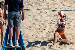 25-08-2019 NED: DELA NK Beach Volleyball, Scheveningen<br /> Last day NK Beachvolleyball / Joy Stubbe #2