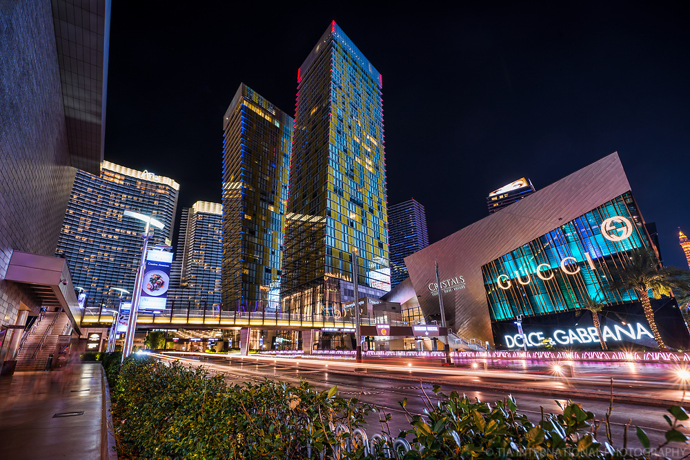 Aria City Center featuring Veer Towers & The Shops at Crystals