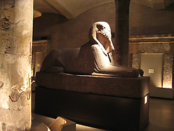 Noted Egyptiana collection at the University of Pennsylvania Museum of Archaeology and Anthropology..Philadelphia, Pennsylvania, PA USA.  Photo copyright Lee Foster, 510-549-2202, lee@fostertravel.com, www.fostertravel.com.  Photo 360-50048