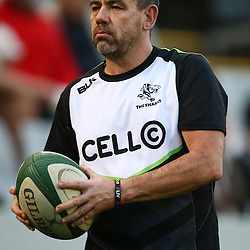 DURBAN, SOUTH AFRICA - AUGUST 27: John Hooper (Masseur) of the Cell C Sharks during the Currie Cup match between Cell C Sharks XV and Vodacom Blue Bulls at Growthpoint Kings Park on August  27, 2016 in Durban, South Africa. (Photo by Steve Haag/Gallo Images)