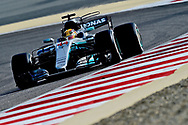 Lewis Hamilton of Mercedes AMG Petronas during the Bahrain Formula One Grand Prix Qualifying session at the International Circuit, Sakhir<br /> Picture by EXPA Pictures/Focus Images Ltd 07814482222<br /> 15/04/2017<br /> *** UK &amp; IRELAND ONLY ***<br /> <br /> EXPA-EIB-170415-0290.jpg