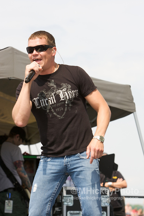 3 Doors Down performs at the Indianapolis Motor Speedway on Carb Day. Photo by Michael Hickey