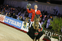 Lansink Jos (BEL) - Valentina van't Heike<br /> Winner Grand Prix Gucci - Paris 2009<br /> Photo © Dirk Caremans