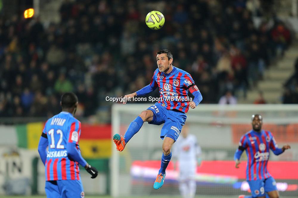 Julien FERET - 14.03.2015 - Lorient / Caen - 29eme journee de Ligue 1<br /> Photo : Vincent Michel / Icon Sport