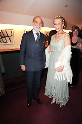 PRINCE & PRINCESS MICHAEL OF KENT at the World War 2 Commemoration Gala Concert marking the 65th Anniversary of the end of The War in Europe, held at The Royal Albert Hall, London on 10th May 2010.