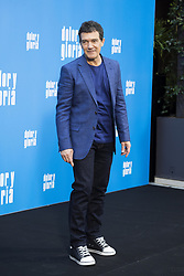 March 12, 2019 - Madrid, Spain - Spanish actor Antonio Banderas  pose during the photocall of the film 'Dolor y Gloria' (Pain and Glory) in Madrid on March 12, 2019. (Credit Image: © Oscar Gonzalez/NurPhoto via ZUMA Press)