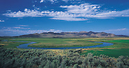 Idaho. Silver Creek in Picabo known as Ernest Hemingway's favorite hunting and fishing area