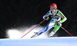 27.01.2018, Lenzerheide, SUI, FIS Weltcup Ski Alpin, Lenzerheide, Riesenslalom, Damen, im Bild Ana Bucik (SLO) // Ana Bucik of Slovenia in action during the ladie's Giant Slalom of FIS ski alpine world cup in Lenzerheide, Austria on 2018/01/27. EXPA Pictures © 2018, PhotoCredit: EXPA/ Sammy Minkoff<br /> <br /> *****ATTENTION - OUT of GER*****