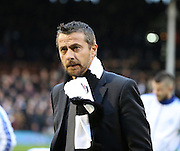 Fulham head coach Slavisa Jokanovic in his first game in charge during the Sky Bet Championship match between Fulham and Sheffield Wednesday at Craven Cottage, London, England on 2 January 2016. Photo by Matthew Redman.