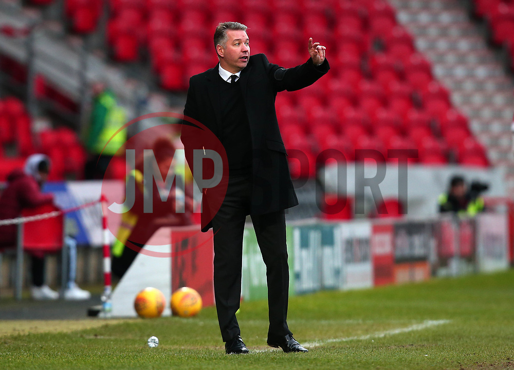 Doncaster Rovers manager Darren Ferguson - Mandatory by-line: Robbie Stephenson/JMP - 27/01/2018 - FOOTBALL - The Keepmoat Stadium - Doncaster, England - Doncaster Rovers v Bristol Rovers - Sky Bet League One