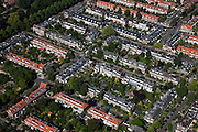 Nederland, Utrecht, Utrecht, 23-06-2010; Tuindorp, vroegere buitenwijk.luchtfoto (toeslag), aerial photo (additional fee required).foto/photo Siebe Swart